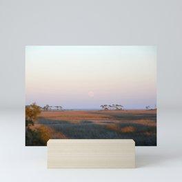 Moonrise on the Salt Marsh Mini Art Print