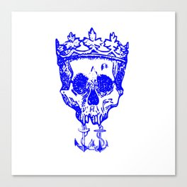 All Hail The King Canvas Print