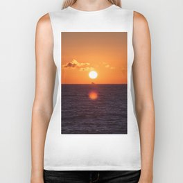 between suns and over  the oceans Biker Tank