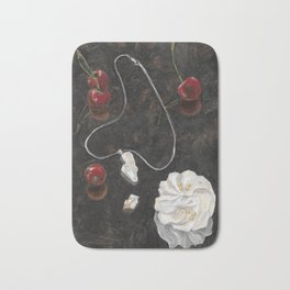 Red Cherries Bath Mat