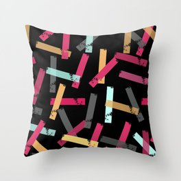 KISOMNA #3 (Black BG) Throw Pillow