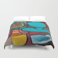 mirror Duvet Covers featuring Mirror by MyColorsByCaroStore