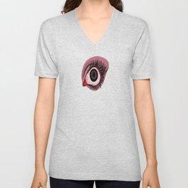 Red Eye Unisex V-Neck