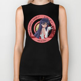 Sailor Mars - Crystal Intro Biker Tank