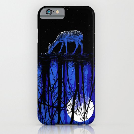 deep blue forest iPhone & iPod Case