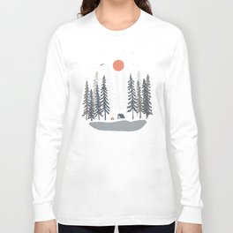 Feeling Small in the Morning... Long Sleeve T-shirt
