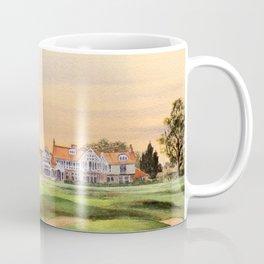 Muirfield Golf Course 18th Green Coffee Mug