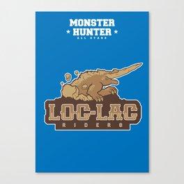 Monster Hunter All Stars - Loc-Lac Riders Canvas Print