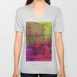 Abstract No. 453 Unisex V-Neck