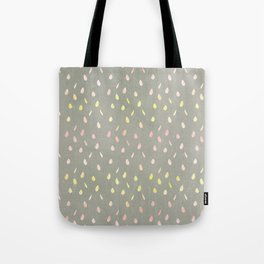 Modern hand painted pink yellow watercolor ombre brushstrokes Tote Bag