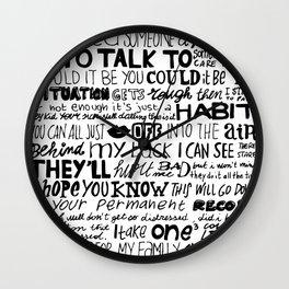 Word Wall Clock