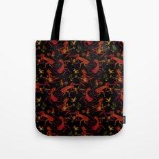 Devil's Dancing Tote Bag