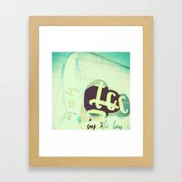 TCC by the Bay Framed Art Print