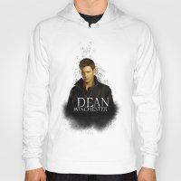 dean winchester Hoodies featuring Dean Winchester - Supernatural by KanaHyde