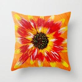 Sunflower - Mazuir Ross Throw Pillow