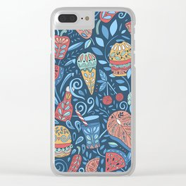 Summer cookout Clear iPhone Case