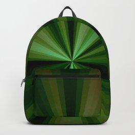 Comic Green Backpack