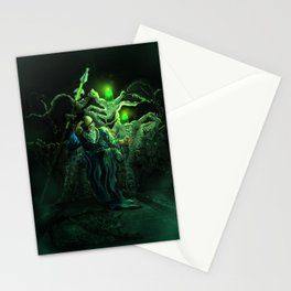 Odin and his loyal beasts Stationery Cards