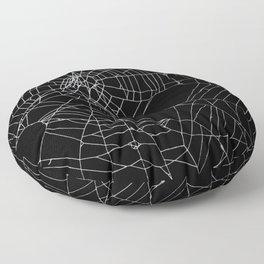 SpiderWeb Web Floor Pillow