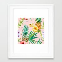 hawaii Framed Art Prints featuring Hawaii by 83 Oranges™
