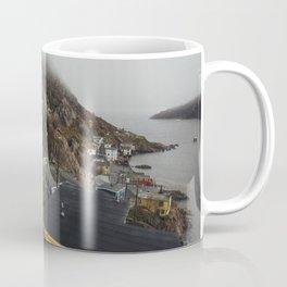 Foggy Day in The Battery, St. John's, Canada Coffee Mug