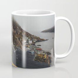 Foggy Day in The Battery, St. John's, Canada Coffee Mug