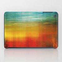 flight iPad Cases featuring Flight by SensualPatterns