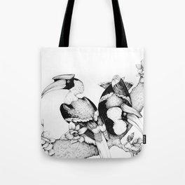 The Hornbills Tote Bag