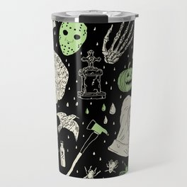 Whole Lot More Horror: BLK Ed. Travel Mug