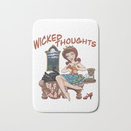 Wicked Thoughts Bath Mat