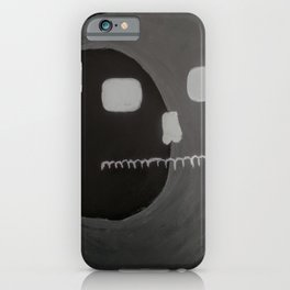 Dead Man In The Moon iPhone Case