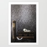 library Art Prints featuring library by Joana Kruse