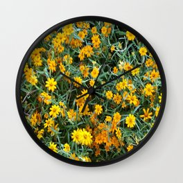 GOLDEN SHOWERS Wall Clock