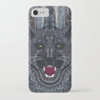 panther iPhone & iPod Cases featuring Panther by ArtLovePassion