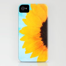 Half A SunFlower  iPhone (4, 4s) Slim Case