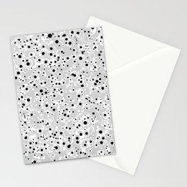 black spots Stationery Cards