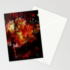 French cancan Stationery Cards