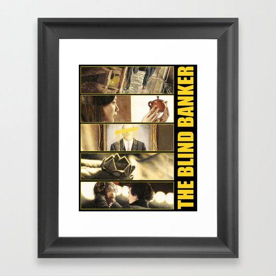 The Blind Banker Framed Art Print