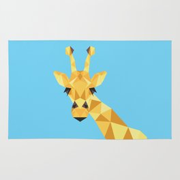 a giraffe Rug