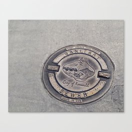 Alien Iron Works Canvas Print