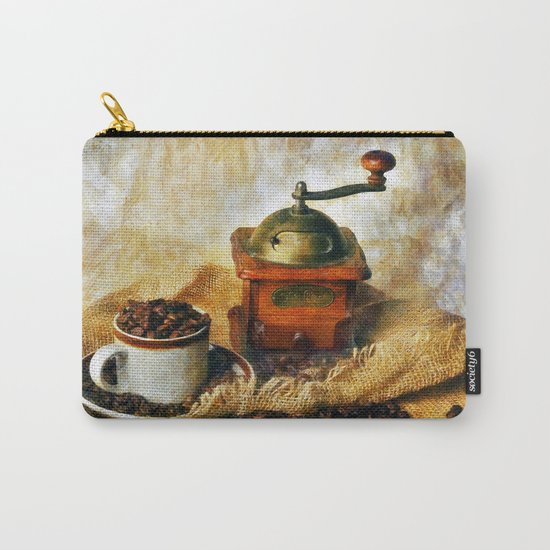 Coffee Grinder and Coffee Cup Carry-All Pouch