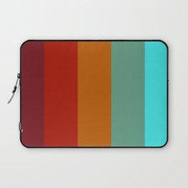 Yoshika - Multicolor Retro Stripes Laptop Sleeve