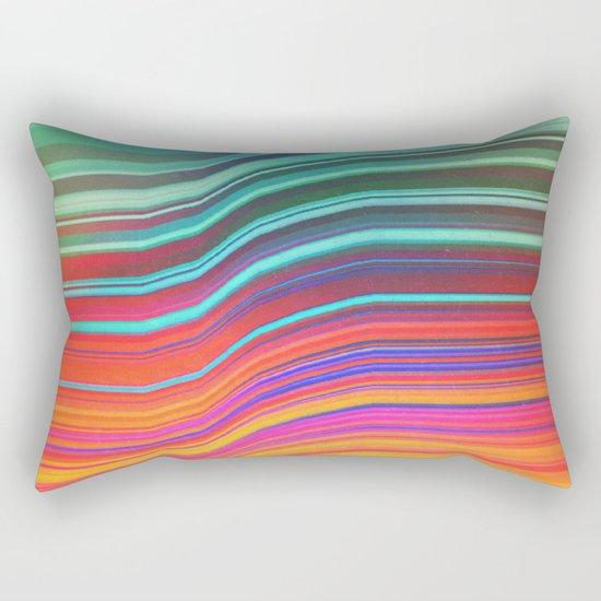 Echoes Of Mine. Rectangular Pillow