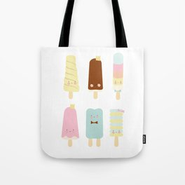 Icecreams all over Tote Bag