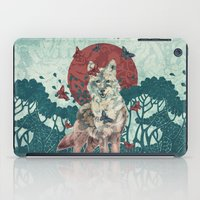 lady iPad Cases featuring Lady Butterfly by Paula Belle Flores