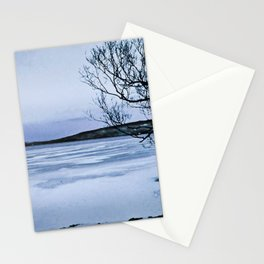 Frozen Lake Stationery Cards