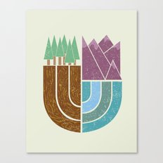 Mountain Crest Canvas Print