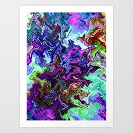 Mudded Two Art Print