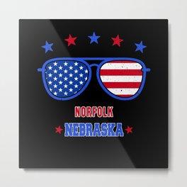 Norfolk Nebraska Metal Print