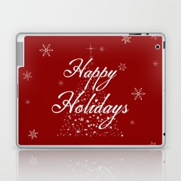 Happy Holidays Laptop & iPad Skin
